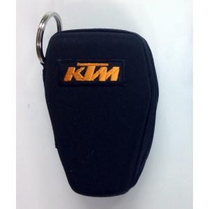 Θήκη κλειδιών σκληρή με κρίκο KTM