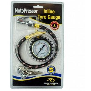 Αναλογικός μετρητής πίεσης ελαστικών ακριβείας MotoPressor (2η έκδοση)