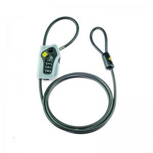 Καλώδιο κλειδώματος κράνους-αποσκευών Gearlok (με κλειδαριά) 150 εκ.