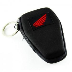 Θήκη κλειδιών σκληρή με κρίκο Honda logo κόκκινο