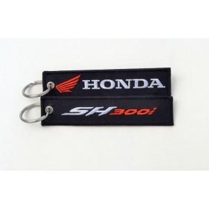 Μπρελόκ με λογότυπο Honda SH300i μαύρο -  λευκό