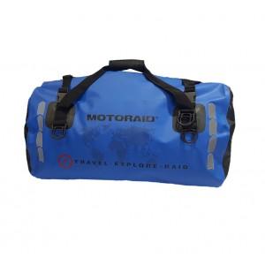 Αδιάβροχος σάκος MotoRAID 40 lt. ADVENTURE μπλε μαύρος (ver 4)