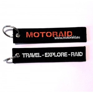 Μπρελόκ MotoRAID Travel-Explore-RAID