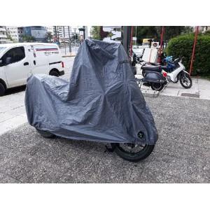 Κουκούλα μοτοσυκλέτας MotoRAID αδιάβροχη με τρύπα Kawasaki Versys 1000 (χωρίς βαλίτσα)