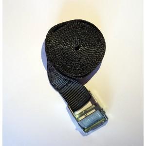 Ιμάντας 2μ. x 20 χιλ. μαυρος