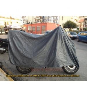 Κουκούλα μοτοσυκλέτας MotoRAID αδιάβροχη με τρύπα BMW R 1200 GS/Adv. -13