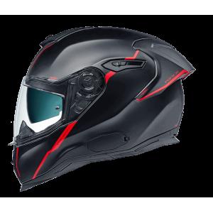 Κράνος NEXX SX.100R Shortcut μαύρο κόκκινο ματ
