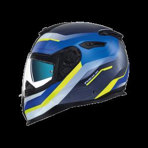 NEXX SX.100 Mantik μπλε νέον κίτρινο ματ