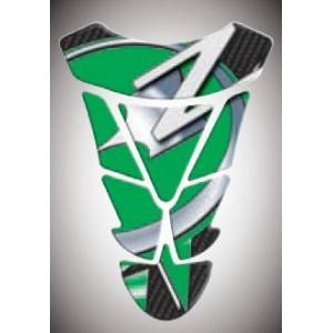 Tankpad Kawasaki Z πράσινο-λευκό