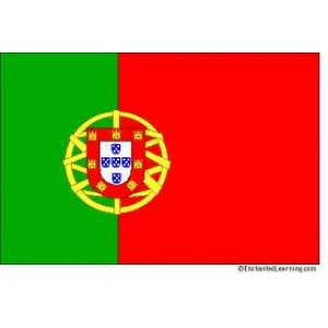 Αυτοκόλλητο σημαία Πορτογαλίας