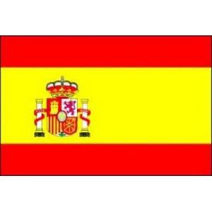 Αυτοκόλλητο σημαία Ισπανίας