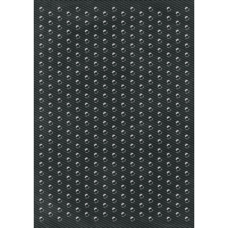 Προστατευτικό αυτοκόλλητο έλξης One Design carbon look 35 x 25 εκ.