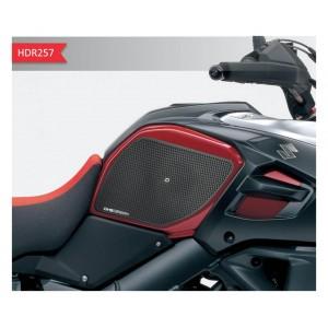 Πλαϊνά προστατευτικά ντεποζίτου έλξης One Design HDR Suzuki DL 1000 V-Strom/XT 14- μαύρα