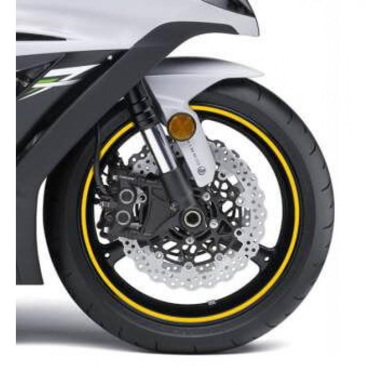 Ταινία τροχών One Design με οδηγό κίτρινη ανακλαστική