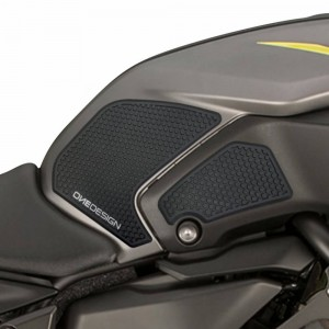 Πλαϊνά προστατευτικά ντεποζίτου έλξης One Design HDR Yamaha MT-07 18- μαύρα