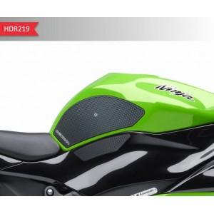 Πλαϊνά προστατευτικά ντεποζίτου έλξης One Design HDR Kawasaki ZX6R / ZX636 09-16 μαύρα