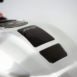 Tankpad One Design carbon look logo racing 13 εκ.