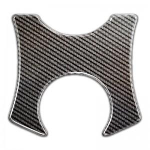 Κάλυμμα πλάκας τιμονιού One Design Suzuki DL 650-1000 V-Strom 09-11 carbon look