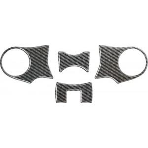 Κάλυμμα πλάκας τιμονιού One Design Honda NC 700-750 X carbon look