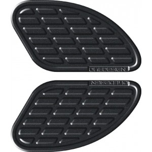 Πλαϊνά προστατευτικά ντεποζίτου έλξης One Design Soft Touch leather look μαύρα