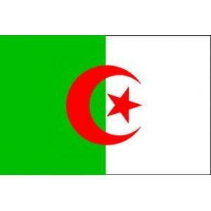 Αυτοκόλλητο σημαία Αλγερίας