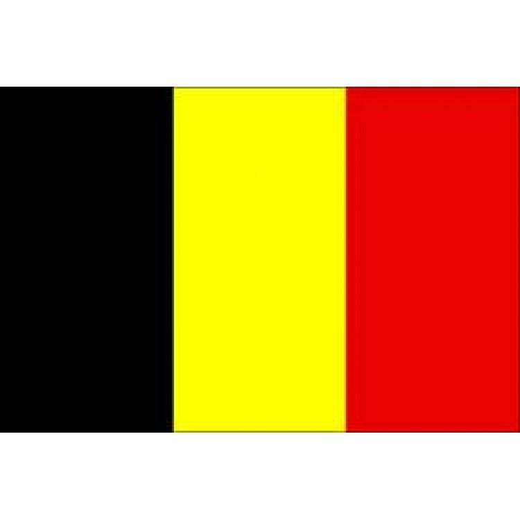 Αυτοκόλλητο σημαία Βελγίου