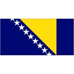 Αυτοκόλλητο σημαία Βοσνίας