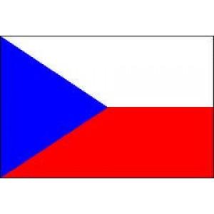 Αυτοκόλλητο σημαία Τσεχίας