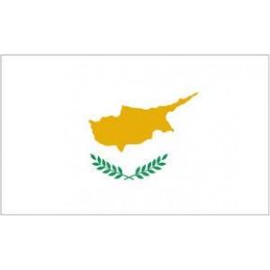 Αυτοκόλλητο σημαία Κύπρου