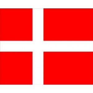 Αυτοκόλλητο σημαία Δανία