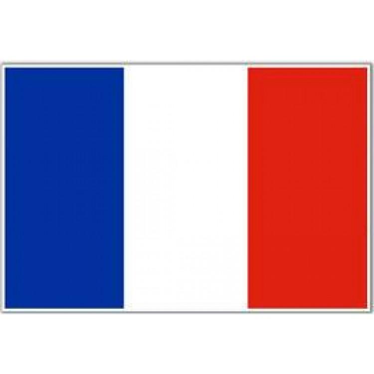 Αυτοκόλλητο σημαία Γαλλίας