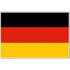 Αυτοκόλλητο σημαία Γερμανίας