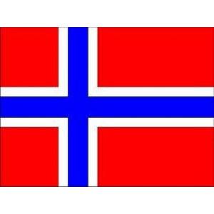 Αυτοκόλλητο σημαία Νορβηγίας