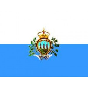 Αυτοκόλλητο σημαία Σαν Μαρίνο