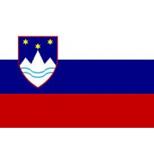 Αυτοκόλλητο σημαία Σλοβενίας