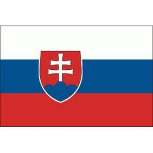 Αυτοκόλλητο σημαία Σλοβακίας