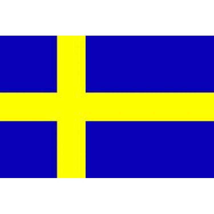 Αυτοκόλλητο σημαία Σουηδίας