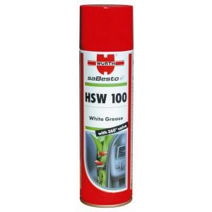 Υψηλής πρόσφυσης λευκό γράσο Wurth HSW 100