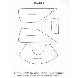 Διάφανο προστ/κό αυτ/το τεποζίτου για Suzuki V-Strom 650 / 1000