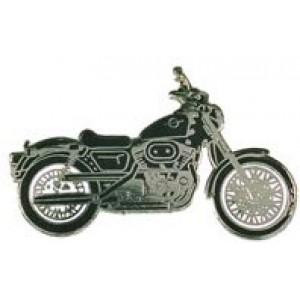 Pin (καρφίτσα) Harley Davidson XLH 883 μαύρο-ανθρακί (μπρελόκ)