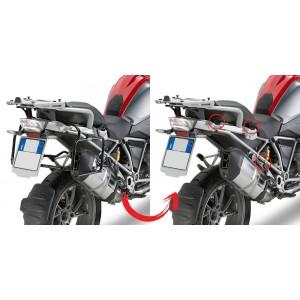 Βάσεις πλαϊνών βαλιτσών (ίσιες) rapid release GIVI BMW R 1200 GS LC 13-