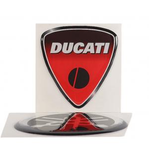 Αυτοκόλλητο εμβλήμα Ducati ζεύγος