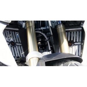 Προστατευτικό ψυγείου (σίτα) Powerbronze BMW R 1250 GS ασημί