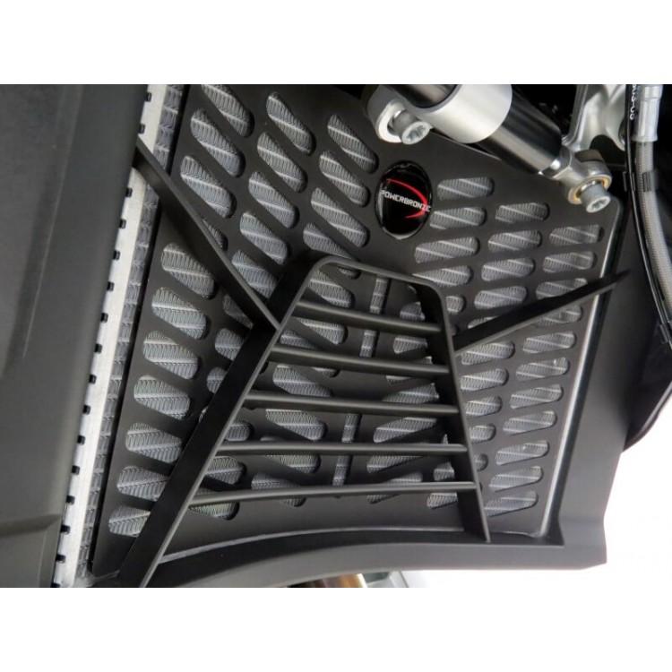Προστατευτικό ψυγείου (πλαστικό) Powerbronze BMW F 900 ΧR μαύρο ματ