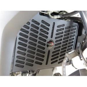 Προστατευτικό ψυγείου (πλαστικό) Powerbronze Suzuki DL 650 V-Strom 17- μαύρο ματ