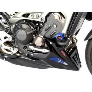 Καρίνα Powerbronze Yamaha MT-09 Tracer/GT με ΟΕΜ προστατευτικά μαύρο ματ-ασημί
