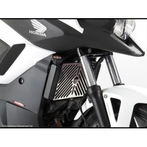 Προστατευτικό ψυγείου (σίτα) Powerbronze Honda NC 700-750 S/X ασημί