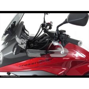 Powerbronze wind deflectors Honda VFR 800 Crossrunner 15- clear