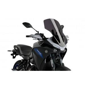 Ζελατίνα Puig Touring Yamaha Tracer 7 μαύρη