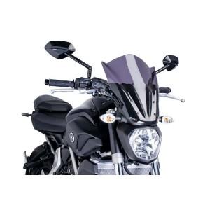Ζελατίνα Puig New Generation Naked Touring Yamaha MT-07 -17 σκούρο φιμέ